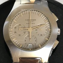 Longines Oposition Titanium 38mm Grey No numerals