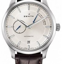 Zenith Elite Power Reserve Steel 40mm Silver United States of America, New York, Brooklyn
