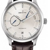 Zenith Elite Power Reserve new Automatic Watch with original box 03.2122.685/01.C498