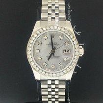 Rolex Lady-Datejust Acier 26mm Nacre Sans chiffres