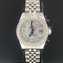 Rolex Lady-Datejust Acero 26mm Madreperla Sin cifras