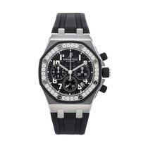 Audemars Piguet 26048SK.ZZ.D002CA.01 Steel Royal Oak Offshore Lady 37mm pre-owned United States of America, Pennsylvania, Bala Cynwyd
