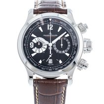 Jaeger-LeCoultre Master Compressor Chronograph Steel 41.5mm Black United States of America, Georgia, Atlanta