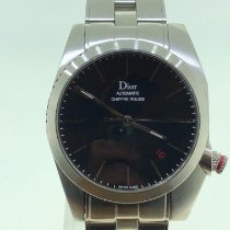 Dior Chiffre Rouge Staal 36mm Zwart