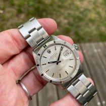 Rolex Oyster Perpetual Date Acier 34mm Argent Sans chiffres France, neuilly sur seine