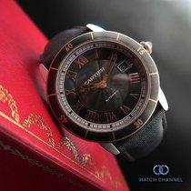 Cartier Ronde Croisière de Cartier Acier 42mm Gris Romains