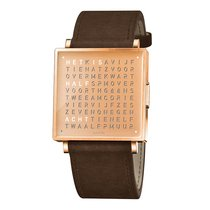 QLOCKTWO W35 COPPER New Steel 35mm Quartz