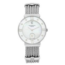 Charriol St-Tropez Steel 30mm Mother of pearl United States of America, New York, NYC