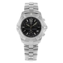TAG Heuer 2000 Steel 40mm Black United States of America, New York, NYC