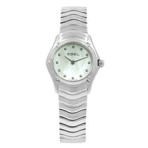 Ebel Classic Steel 24mm Mother of pearl United States of America, New York, NYC