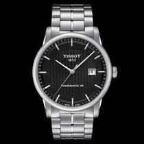 Tissot Luxury Automatic Zeljezo 41mm Crn Bez brojeva