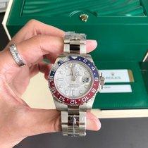 Rolex Oro blanco Automático Gris Sin cifras 40mm nuevo GMT-Master II
