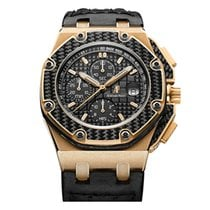 Audemars Piguet Royal Oak Offshore Chronograph Rose gold 45mm Black No numerals United States of America, New York, New York