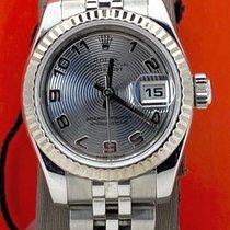 Rolex Сталь Автоподзавод Cеребро 26mm подержанные Lady-Datejust