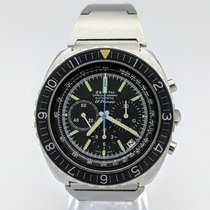 Zenith Pilot Type 20 pre-owned 44mm Black Chronograph Date Tachymeter Steel