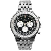 Breitling Navitimer 01 (46 MM) Steel 46mm Black No numerals United States of America, New York, Greenvale