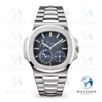 Patek Philippe Nautilus Steel 40mm Blue United States of America, New York