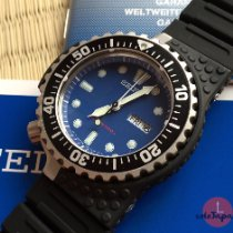 Seiko Prospex Steel 48mm Blue No numerals