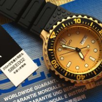 Seiko Prospex Steel 48mm Yellow No numerals