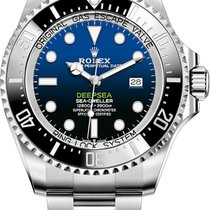 Rolex Sea-Dweller Deepsea Steel 44mm Blue No numerals United States of America, Iowa, Des Moines