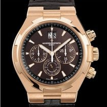 Vacheron Constantin Overseas Chronograph Rose gold 42mm Brown No numerals