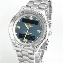 Breitling Chronospace Steel 42mm Blue