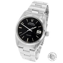 Rolex Air King Date Steel 34mm Black