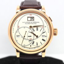 A. Lange & Söhne Rose gold 45.5mm Manual winding 180.032 pre-owned Singapore, Singapore