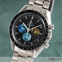 Omega Speedmaster Professional Moonwatch Stål 42mm Sort