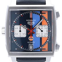 TAG Heuer Monaco Staal 39mm Blauw