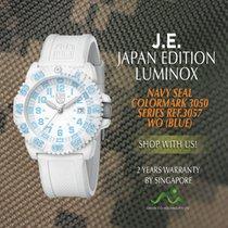 루미녹스 네이비 씰 컬러마크 REF.3057 WO( BLUE) 신품 카본 쿼츠