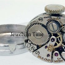Bulova Platinum 14mm Manual winding Diamond pre-owned United States of America, Florida, 33431