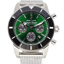 Breitling Superocean Héritage Chronograph Steel 44mm Green