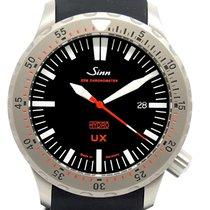 Sinn UX Steel 44mm Black No numerals
