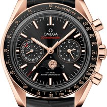Omega 304.63.44.52.01.001 Or rose 2021 Speedmaster Professional Moonwatch Moonphase nouveau