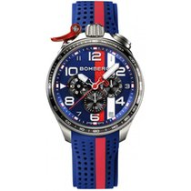 Bomberg Bolt-68 Steel 45mm Blue Arabic numerals