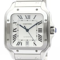 Cartier Santos (submodel) Stahl 48mm Silber