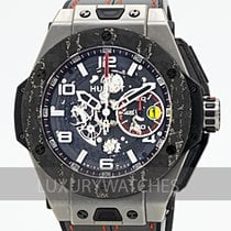 Hublot Big Bang Ferrari 401.NJ.0123.VR Çok iyi Titanyum 45mm Otomatik