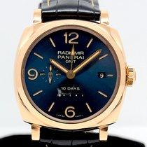Panerai Roségold Automatik Blau 45mm gebraucht Special Editions