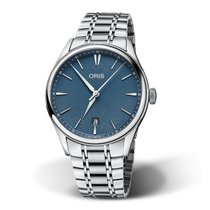 Oris Artelier Date Steel 40mm Blue No numerals