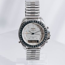 Breitling Pluton pre-owned 41mm Silver Steel