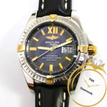 Breitling Cockpit Gold/Steel 41mm Black No numerals United States of America, Pennsylvania, Philadelphia