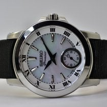 Seiko Premier Automatic Steel 31mm Mother of pearl No numerals