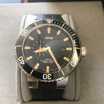 Oris Aquis Small Second Steel 45mm United States of America, California, Long Beach, Ca