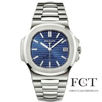 Patek Philippe Nautilus Platinum 40mm Blue United States of America, New York, New York