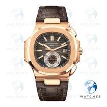 Patek Philippe Nautilus 5980R-001 Nienoszony Złoto różowe 40.5mm Automatyczny