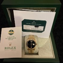 Rolex Day-Date 36 Oro amarillo 36mm Negro Sin cifras España, IBIZA