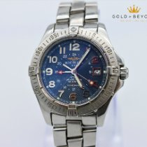Breitling Colt GMT Steel 40mm Blue No numerals United States of America, Nevada, Las Vegas