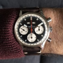 Wakmann Wakmann Triple Date Chronograph ref 725.1309 (Box & Papers) 1972 pre-owned