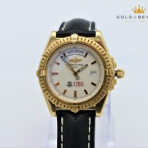 Breitling Headwind Yellow gold 44mm White No numerals
